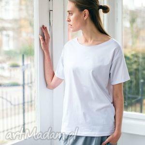 koszulki nature white oversize t-shirt, oversize, tshirt, biały, casual, bawełna