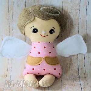 lalki aniołek modlący - tereska 24 cm, anioł, lalka, chrzest, roczek, komunia