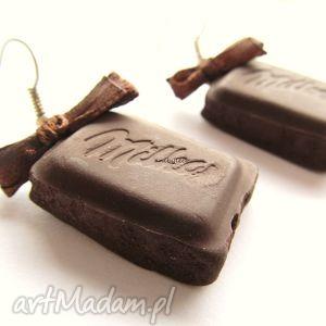hand-made kolczyki kolczyki czekoladki