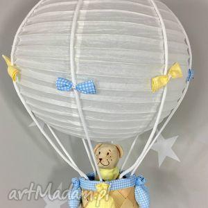 lampa lamado latający miś polski handmade, lampa, latający, miś, balon pokoik