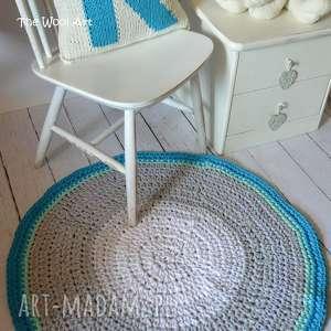 sznurkowy dywan, ze-sznurka, do-pokoiku, dla-dziecka, dywanik, szydełkowy