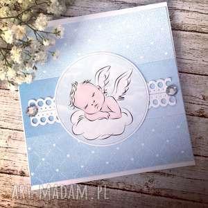 kartka na chrzest dla chłopca - chrzest, chłopiec, prezent, okoliczność
