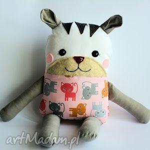 kotek tulikotek - lena - 40 cm - kotek, dziewczynka, tulikotek, maskotka, zabawka