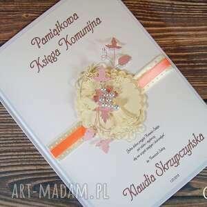 Księga gości - pamiątka komunii komunia długopis gratis