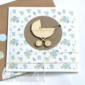 kartka na chrzciny, narodziny, urodziny :: BLUE, chrzest, narodziny