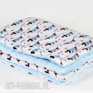 handmade pokoik dziecka kocyk minky cieply pieski dla dziecka
