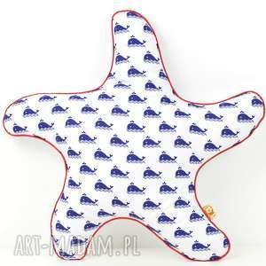 Prezent Poduszka dekoracyjna 45x45cm - Rozgwiazda, poduszki, przytulanka, poszewka