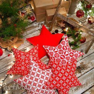 idą święta komplet 5 poduszek gwiazd, poduszki, gwiazdy, gwiazdki, święta, dekoracje