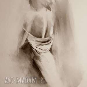 woman 100x70, duży-obraz-kobieta, grafika-kobieta, duży-rysunek-kobieta