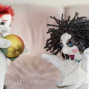 lalki pacynka na rękę jaś, maskotka, pacynka, prazent, teatrzyk, zabawka