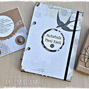 scrapbooking albumy zestaw prezentowy dla nauczyciela, personalizacja