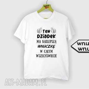 Prezent Koszulka z nadrukiem dla dziadka, prezent dziadek, od wnuków, wnuczki, wnuka