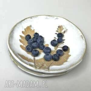 ceramystiq studio miski ceramiczne rdzawe liście,miski ręcznie robione, miska
