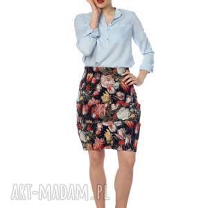 Wyjątkowa, ekstrawagancka, designerska spódnica gobelinowa