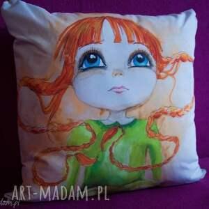 poduszki duża 50x50 dekoracyjna poduszka mała czarodziejka, poduszka, dziewczynka