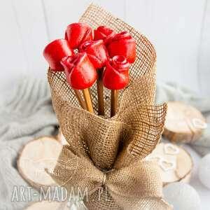 mrufru przepiękny bukiet róż wyjątkowy podarek na każdą okazję