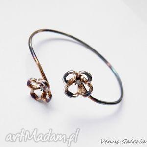 Bransoletka srebrna- Koszyczki, biżuteria, srebro, bransoletki