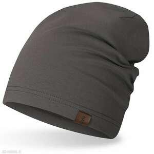hand-made czapki czapka smerfetka, wiosenno-jesienna, krasnalka