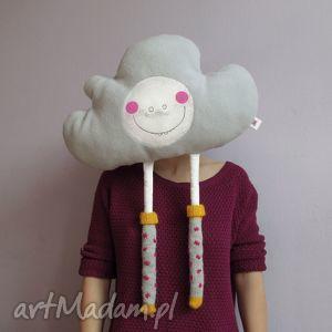 chmurka poduszka z serii fluffy - na zamówienie, chmurka, poduszka, poducha, jasiek
