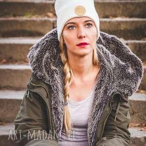 ecru new york sport - jesień, zima, czapka, beanie