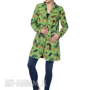 De La Fotta: wyjątkowy dwustronny płaszcz, membrana - designerski, ekstrawagancki, polska marka