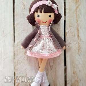 ręcznie zrobione lalki malowana lala milenka