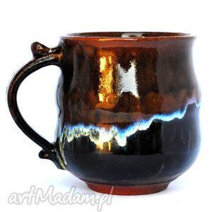 ceramika ceramiczny kubek - jt nr 164, kubek, naczyie, ceramika, picie, unikat