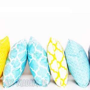 hand-made poduszki komplet 6 poduszek ozdobnych marokańskich 40x40cm od majunto