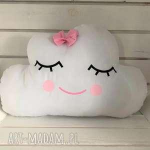 Poduszka chmurka biała, poduszka, chmurka, ozdoba, pokju, przytulania
