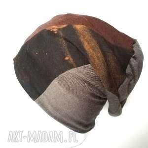 czapka dzianina damska męska unisex, czapka, dzianina, etno, miękka, kolorowa, sport