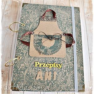 książka kucharska vintage imienna, przepiśnik, przepisy, książka, kucharskaa, prezent