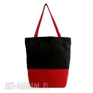 plenty more 38-0010 czarna torebka na eko zakupy shopper bag siskin, markowe torebki