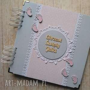 Prezent Album - Tup-tup w różu, chrzest, stópki, urodziny, narodziny,