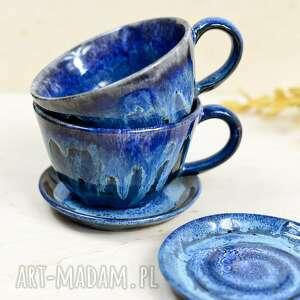 azulhorse filiżanki klasyczne 2 szt do kawy herbaty meluzyna 310 ml