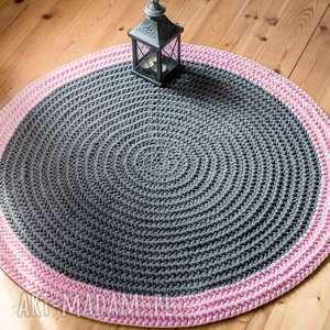 Dywan 100 cm ze sznurka bawełnianego, dywan