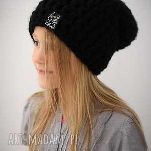 Czapka Monio 01, czapka, dziecko, szydełko, włóczka, wełna, zima