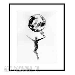 liquid mind 2, grafika, tusz, abstrakcja, obraz