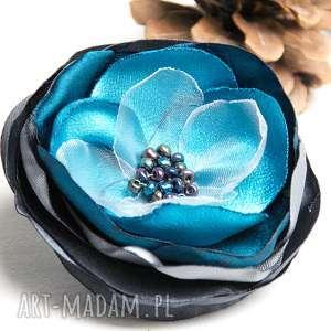 ręcznie zrobione broszki modna broszka przypinka kwiatek, pomysł na prezent