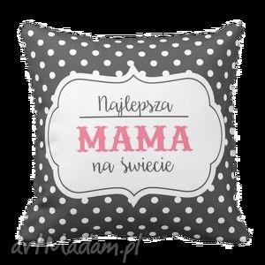 poduszki poduszka najlepsz mama na świecie dzień matki 6227, prezent, dom