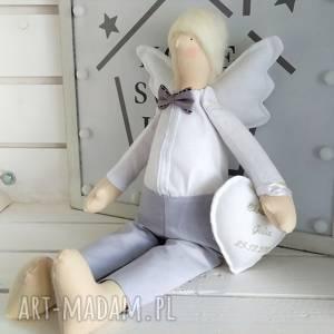 ręcznie wykonane lalki anioł pamiątka pierwszej komunii świętej chrztu