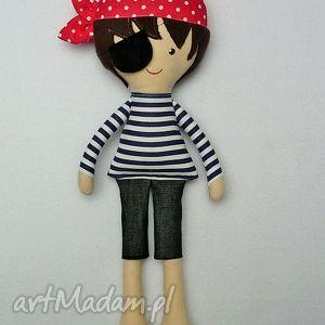 Prezent BAWEŁNIANA LALA PIRAT, lalka, pirat, zabawka, przytulanka, prezent, dziecko