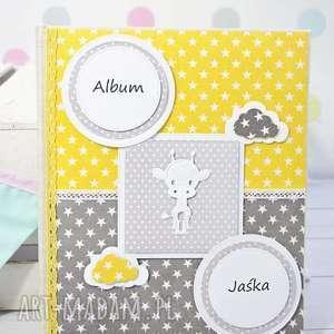Prezent Album na zdjęcia wklejane , album, dziecko, personalizacja, scrapbooking