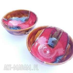 ceramika dwie, naczynia, ceramika, miseczki, użytkowe, unikatowe, spożywcze
