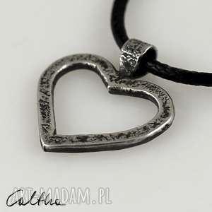 serduszko - srebrny wisior 180204-03, wisior, wisiorek, zawieszka, serce