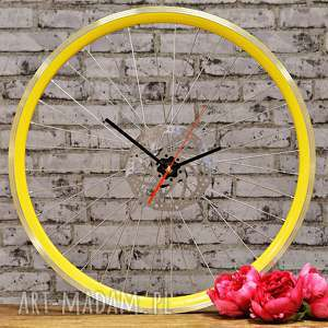 zegary zegar ścienny timess up, zegar, industrialny, rower, prezent, loft