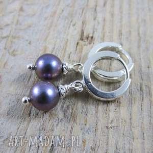 Delikatne z perłą - zamówienie specjalne irart srebro, perła,