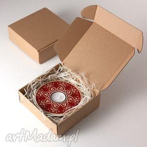 pracowniazona lampion od serca czerwony opakowanie prezentowe, lampion, swiecznik