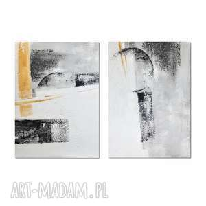 the arrow 2, abstrakcja, nowoczesny obraz ręcznie malowany 140/100, obraz