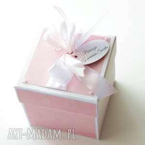 kartka pudełko prezent pierwsza - komunia święta