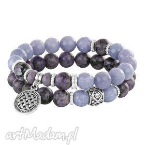 violets lavoga - minerały, zawieszka, zestaw